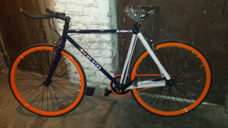 Bici Scatto Fisso Mybike Beclick Limited Edition Bebike 27 Bici